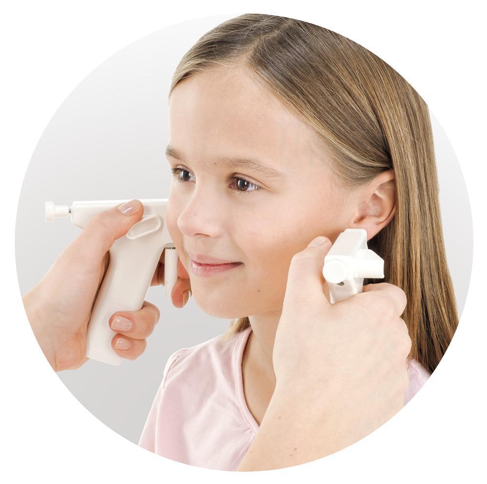 Dzieci przekłuwanie obu uszu jednocześnie